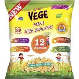 Mini Rice Crackers 12 pk